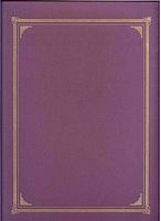Document Covers - Linen Purple 3 /Pk