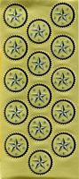 Seals - Silver/ Gold Embossed Award 45 /Pk