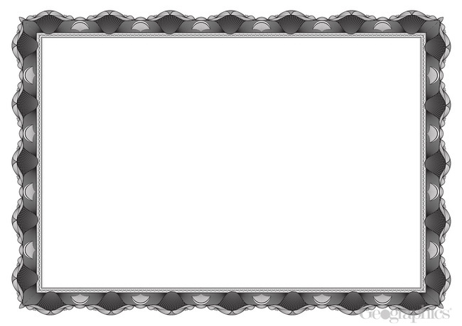 crown silver award certificates a4 25pk