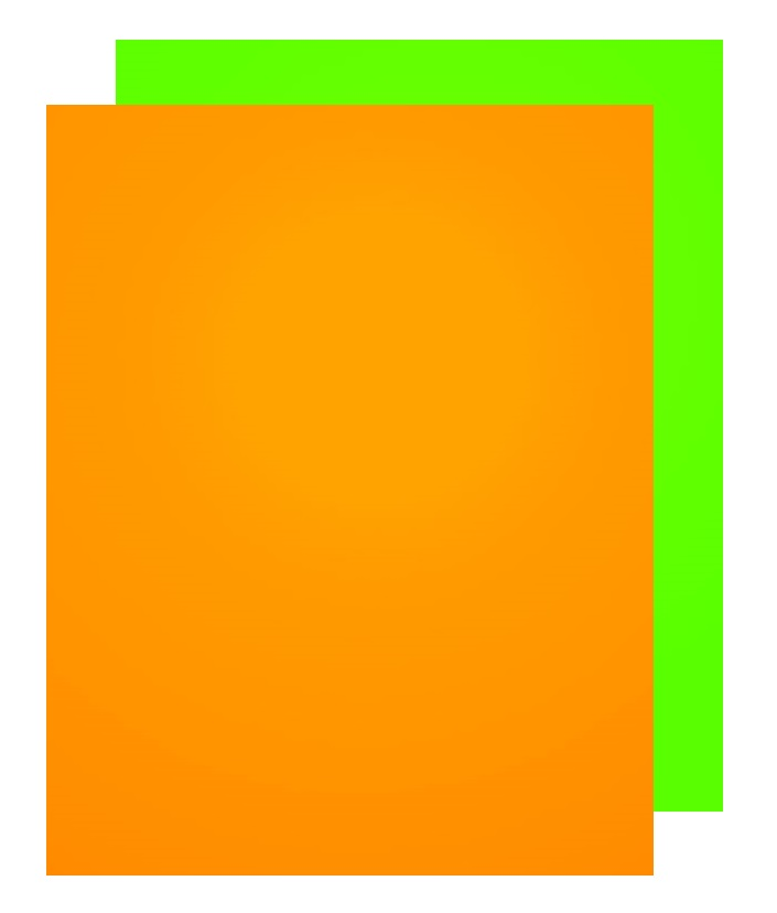Fluorescent poster board/green neon