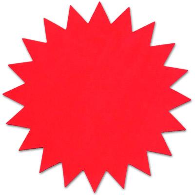 Image Gallery starburst signs