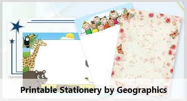 Printable Stationery by Geographics